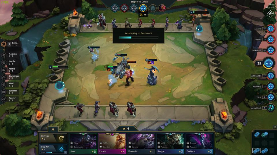 League Of Legends' 'Teamfight Tactics' Auto Chess Spin-Off Has A