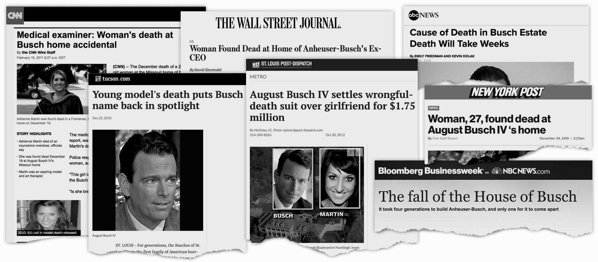 August Busch IV headlines 2010 2012