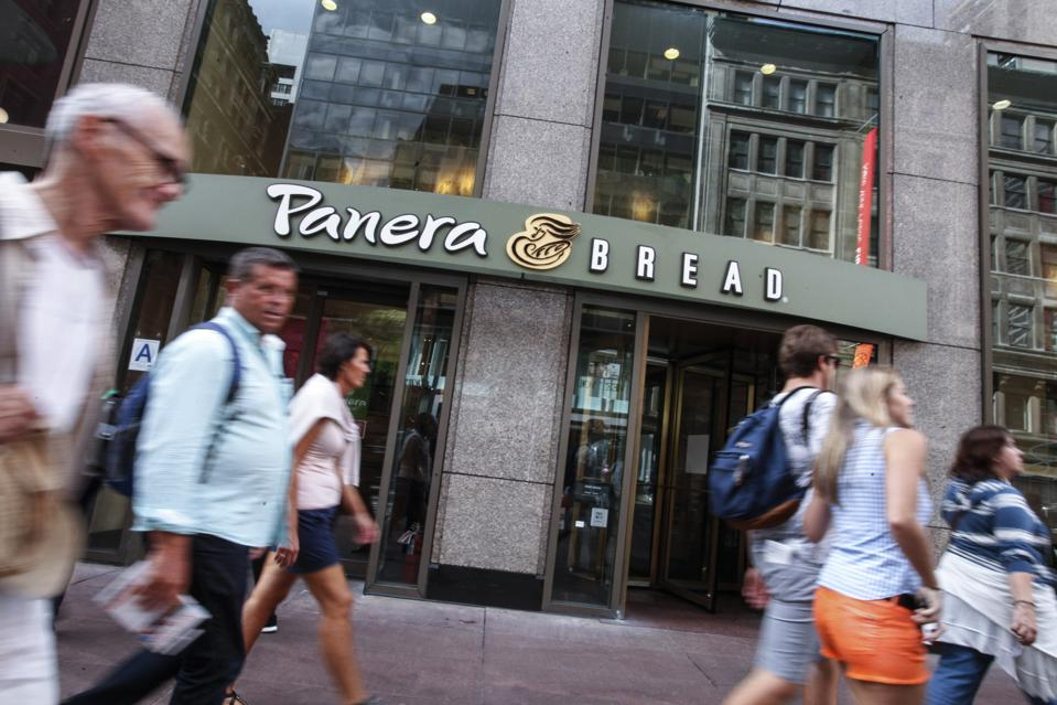 A Panera Bread restaurant in Manhattan.