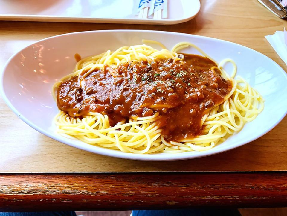 Spaghetti at Fuji Q Highland