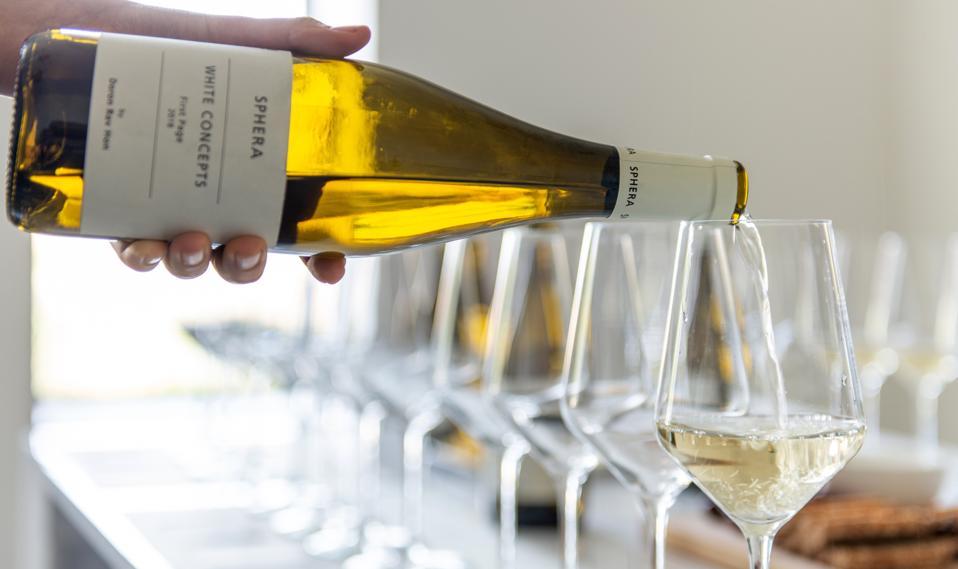 Wine tasting at Sphera Winery