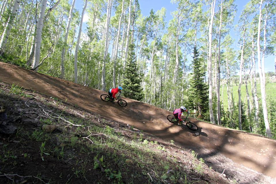 Deer Valley Bike Park Opens For 2019 Season With New Flow Trail