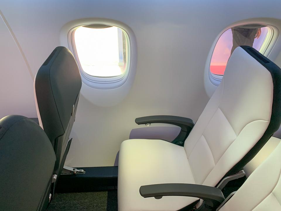 Space Jet seats