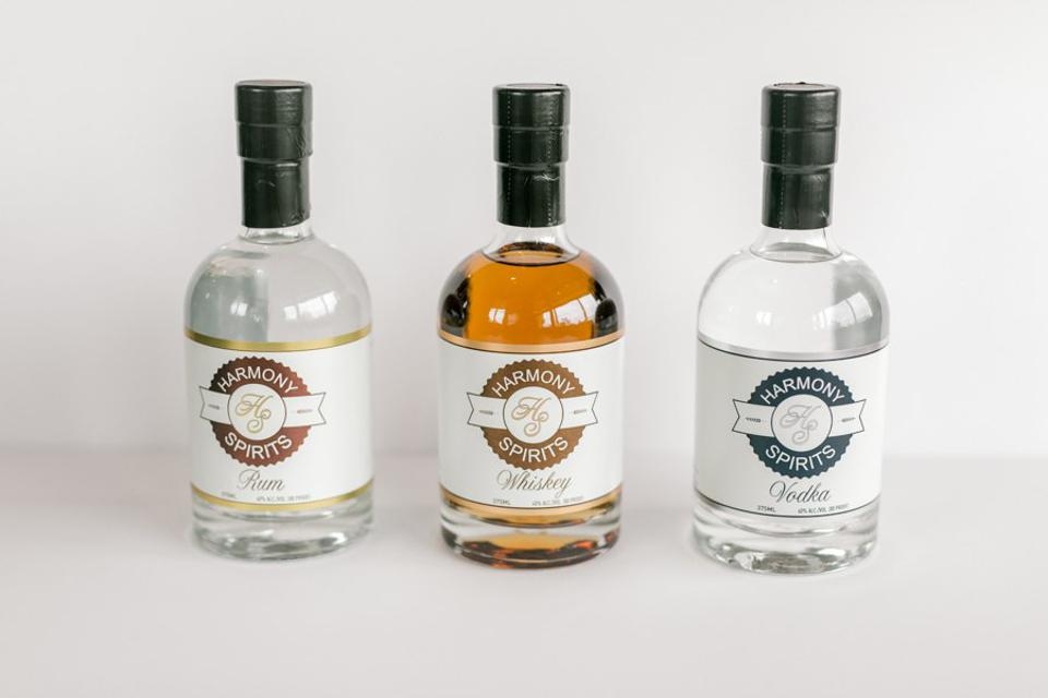 Harmony Spirits products.