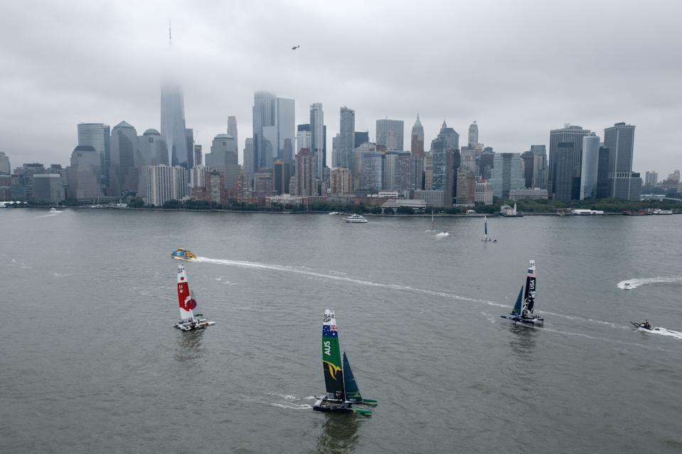 Sunny skies and good breeze is predicted for Saturday's final match race of the SailGP NYC.