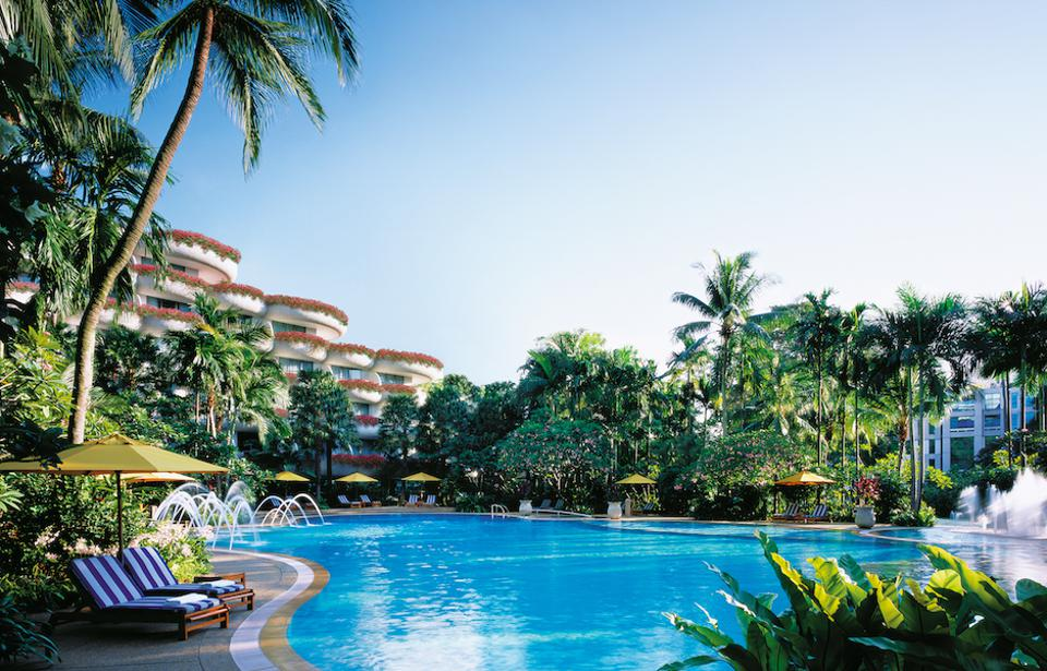 Shangri-La Hotel Singapore sits within 15 acres of its own tropical gardens.