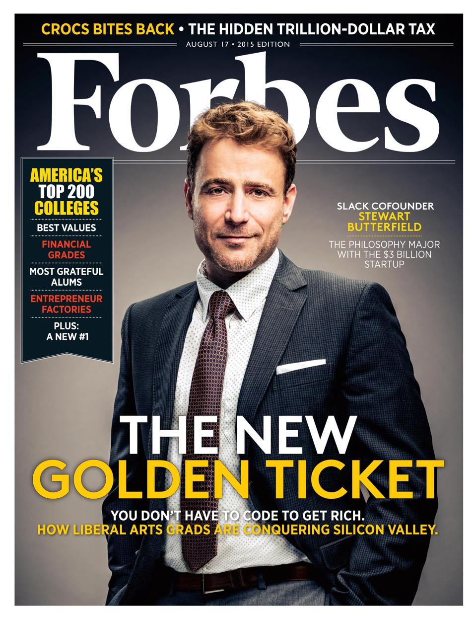 stewart butterfield forbes cover