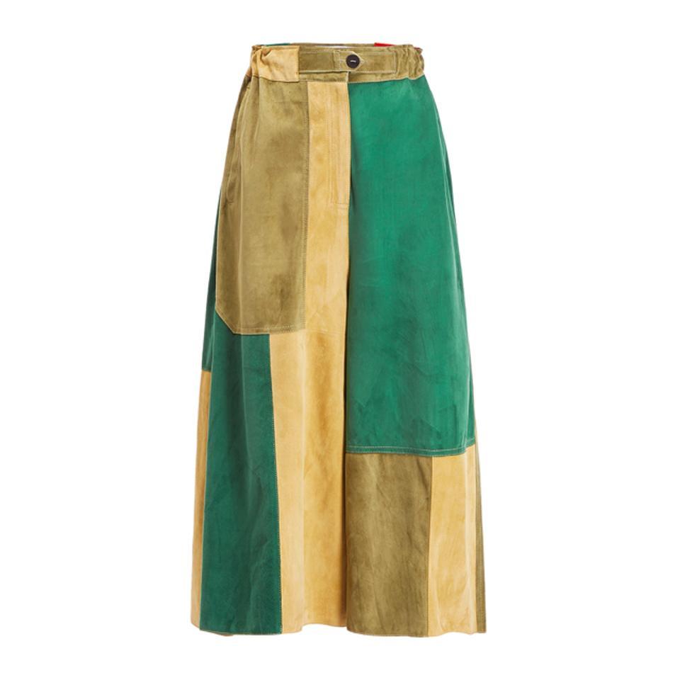 Loewe Patchwork Shorts Multicolor
