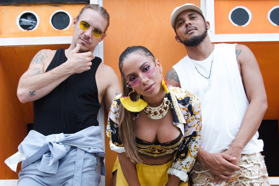 Diplo, Anitta and Walshy Fire for Bacardí.