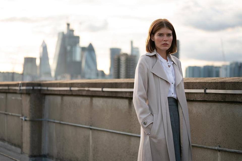 Emma Greenwell in The Rook on Starz