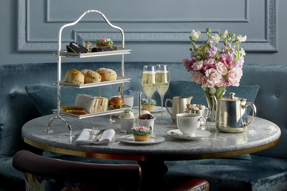 Afternoon tea is a great way to relax while enjoying all that the city has to offer.
