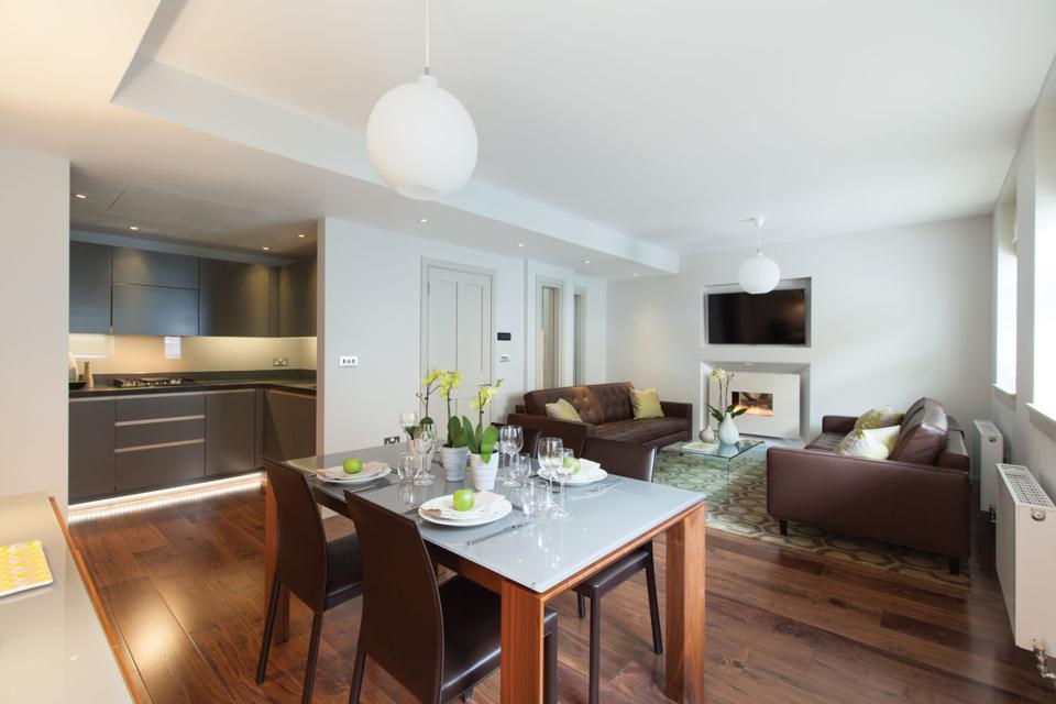 The AKA Marylebone provides ideal accommodations for extended visits.