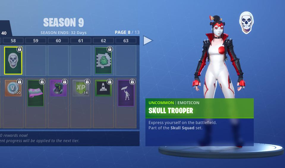 03 >> Fortnite Fortbyte 03 Location Accessible Using The Skull Trooper
