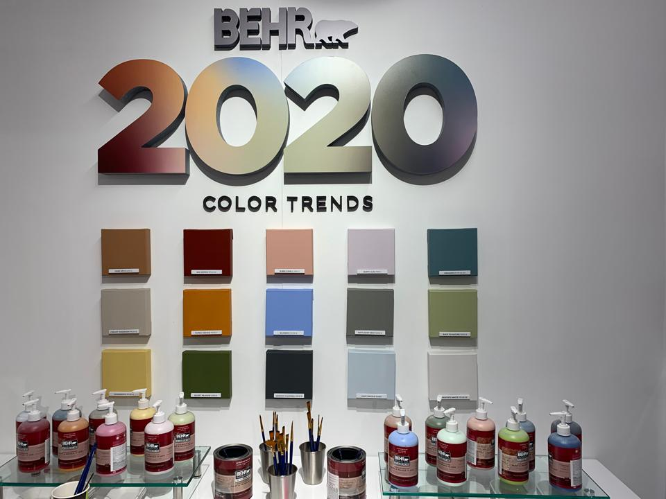2020 Color Trends Home.Three Companies Reveal Their 2020 Color Trend Forecasts