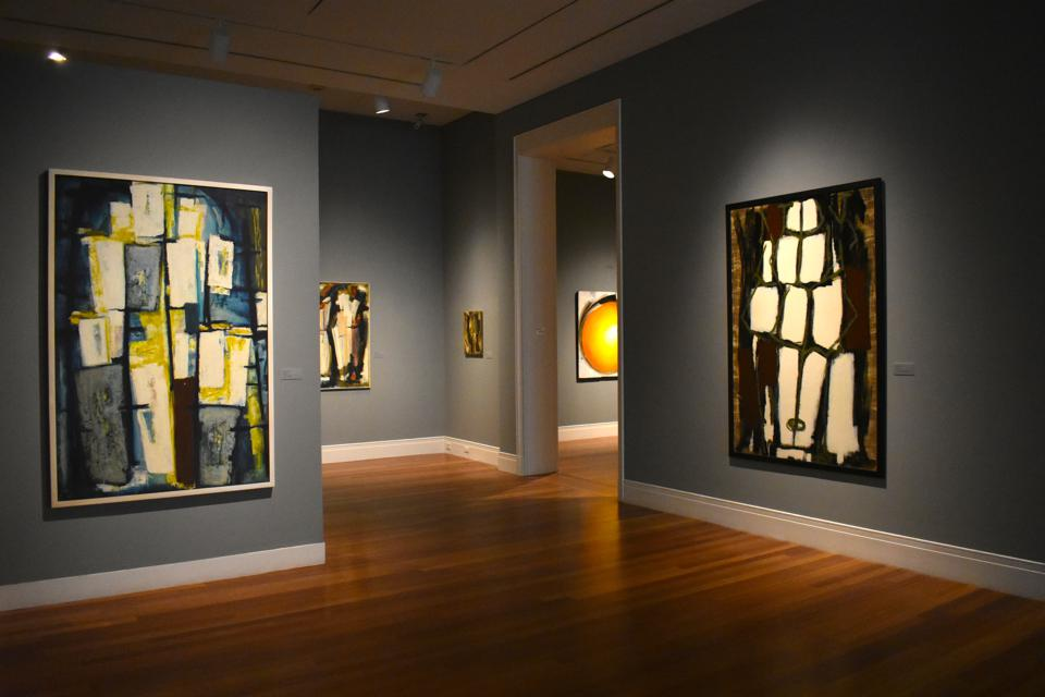 'Piercing the Inner Wall: The Art of Dusti Bongé' installation view at Ogden Museum of Southern Art.