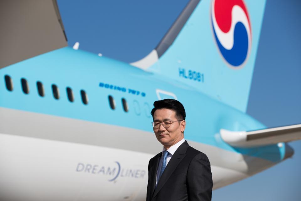 Korean Air chairman Walter Cho