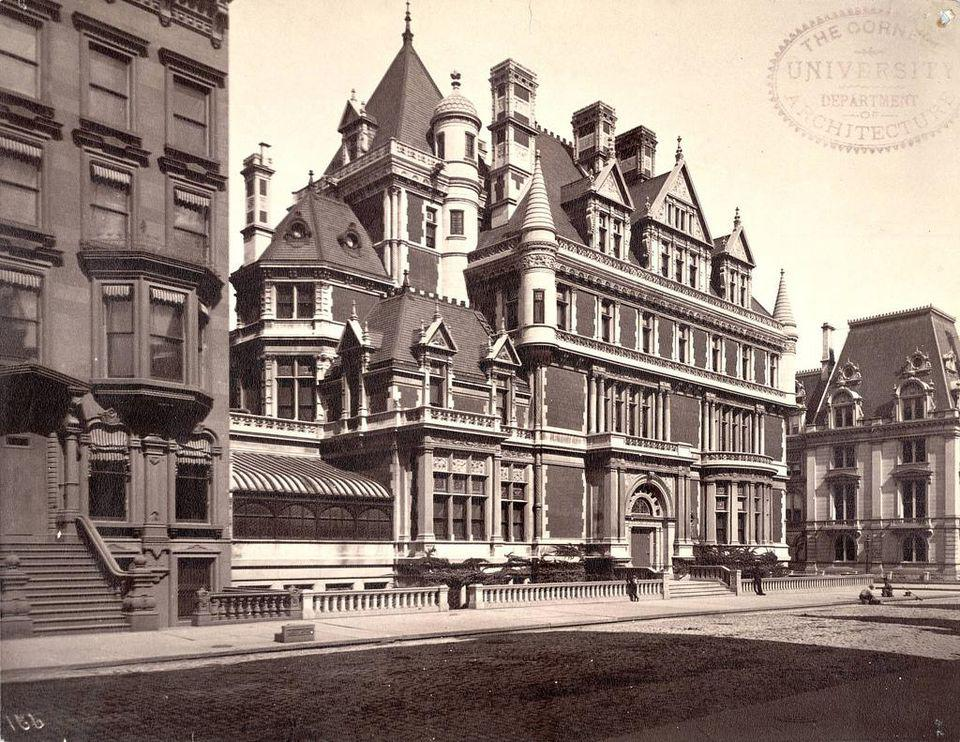The home of Cornelius Vanderbilt II