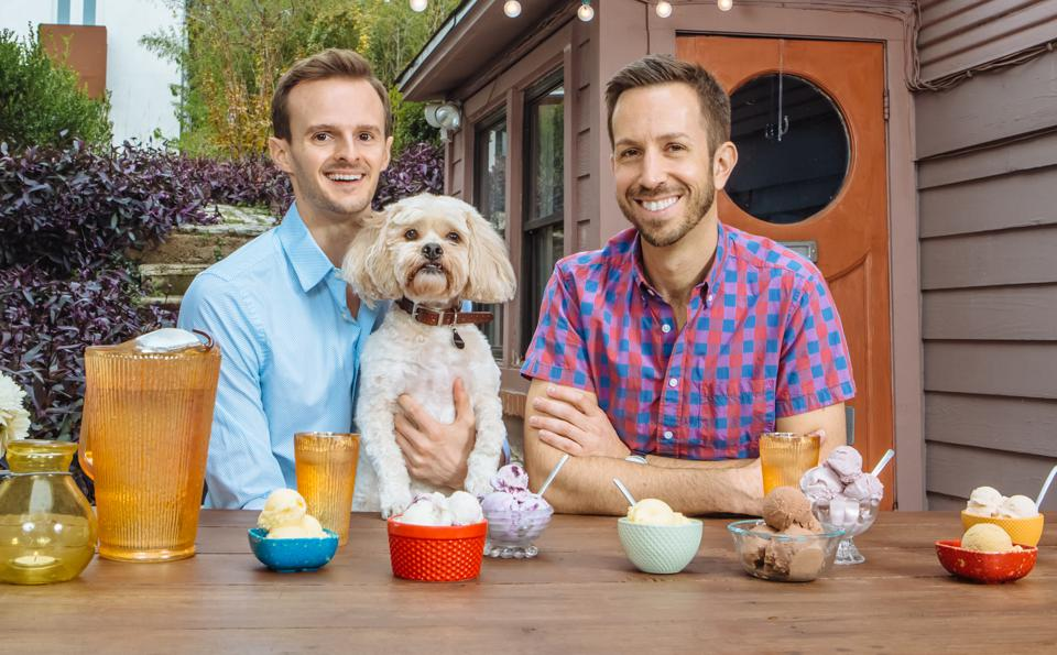 Anthony Sobotik and Chad Palmatier opened their first Lick Honest Ice Creams scoop shop in 2011.