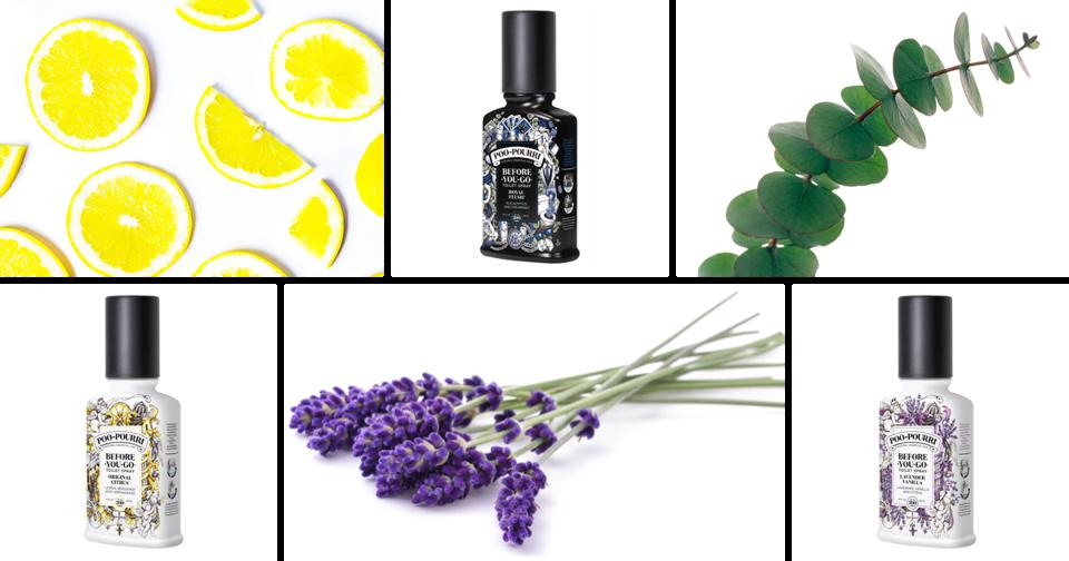 Poo-Pourri products and scents