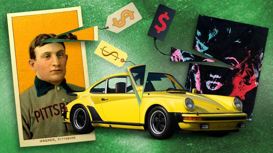 Honus Wagner card, Porsche, Warhol