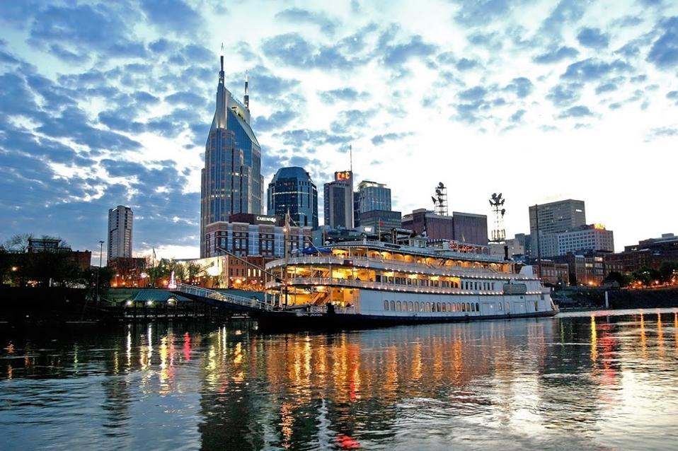 A riverboat in Nashville