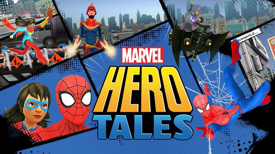 New Marvel App Turns Kids Into Superhero Storytellers
