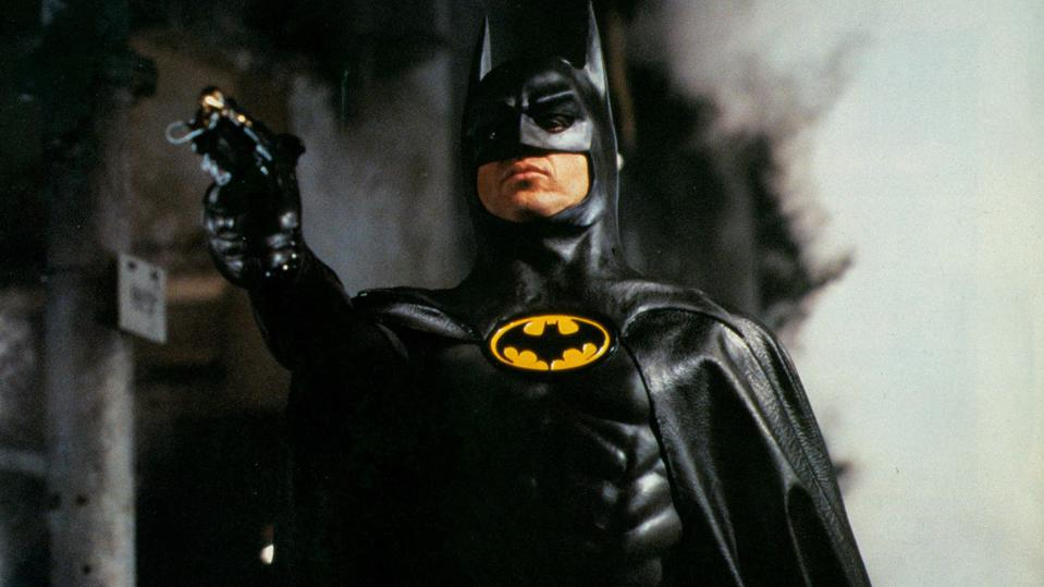 Michael Keaton in Tim Burton's 'Batman'