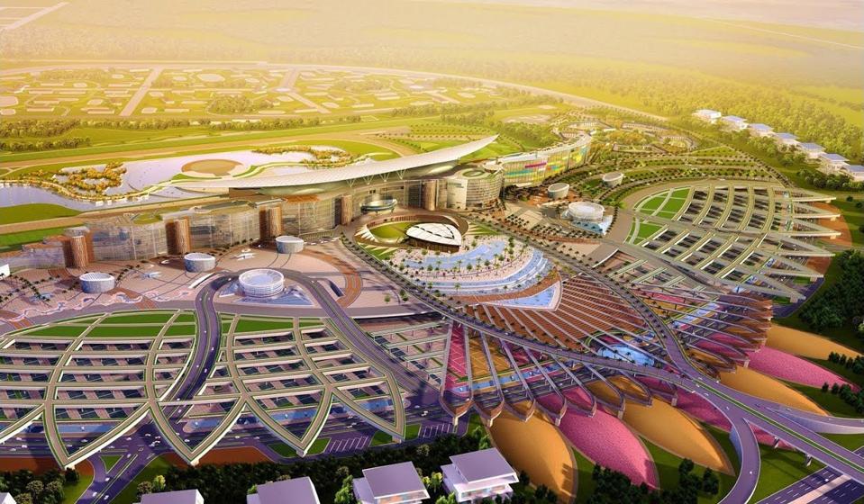 Meydan Racecourse in Dubai