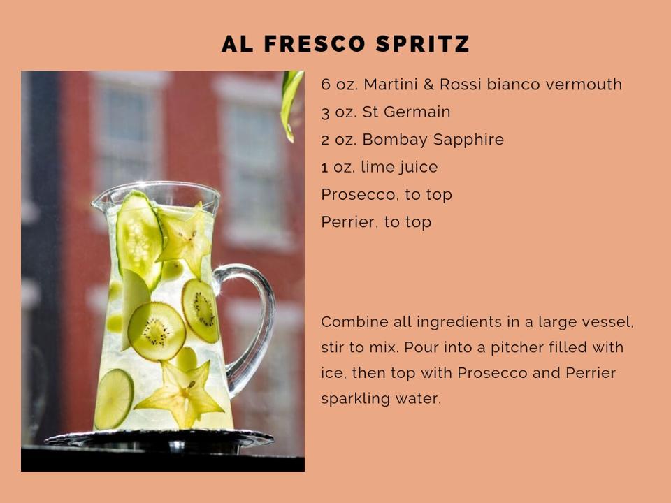 The Al Fresco Spritz recipe.