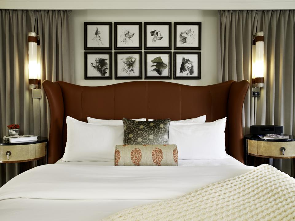 Deluxe King Guest Room at the St. Regis Aspen Resort.