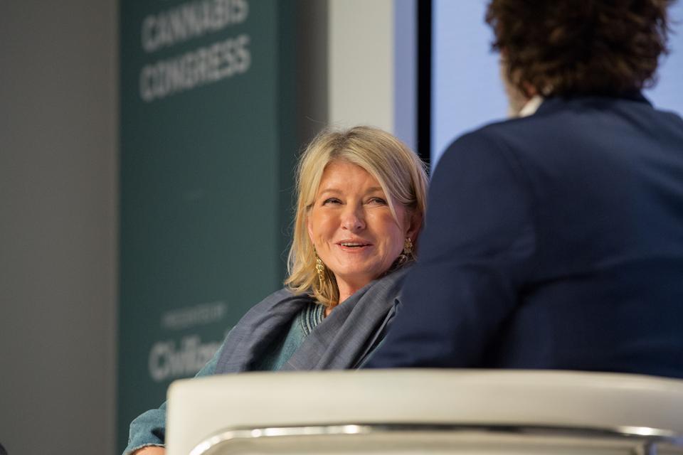 Martha Stewart, World Cannabis Congress, Canopy Growth