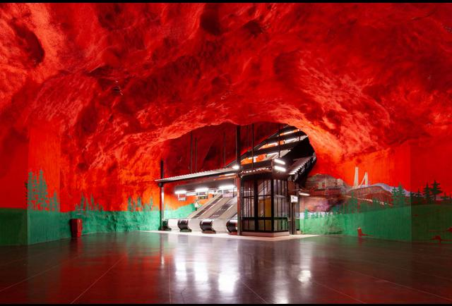 Public Transport As Art Exhibition: How Stockholm Sets The Bar High For Culture In Transit