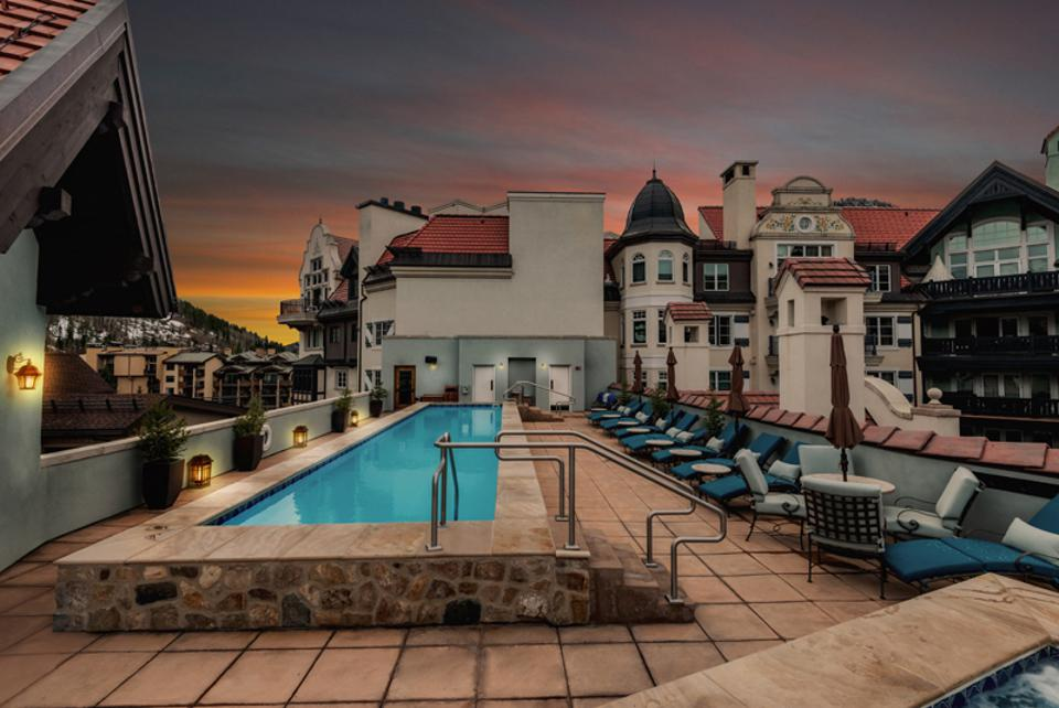 Arrabelle at Vail Square boasts a rooftop pool.