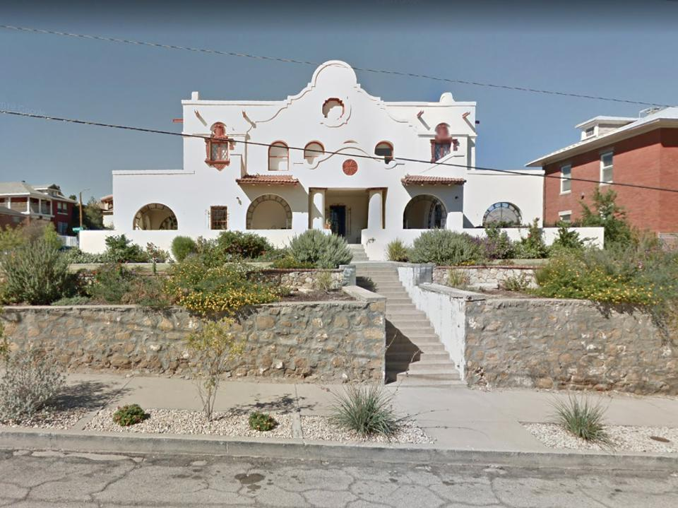 The ″Williams House″, where Beto O'Rourke currently resides in El Paso, Texas.