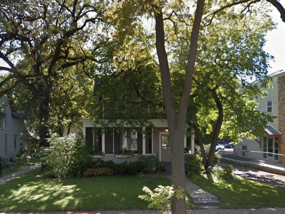 Amy Klobuchar's Minneapolis home.