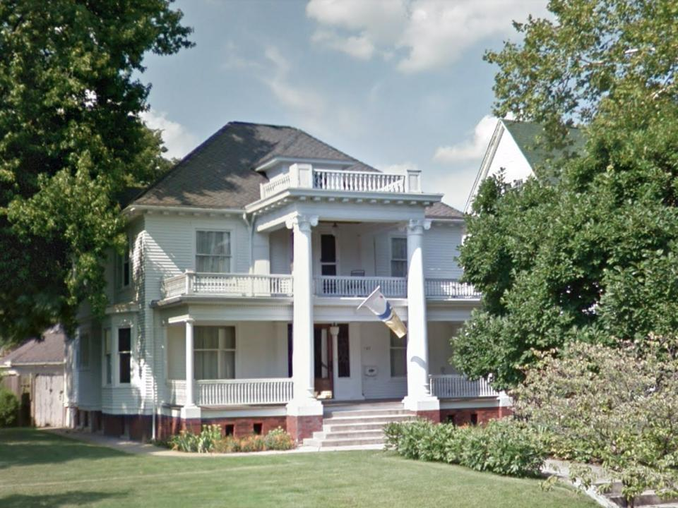Mayor Pete Buttigieg's South Bend home.