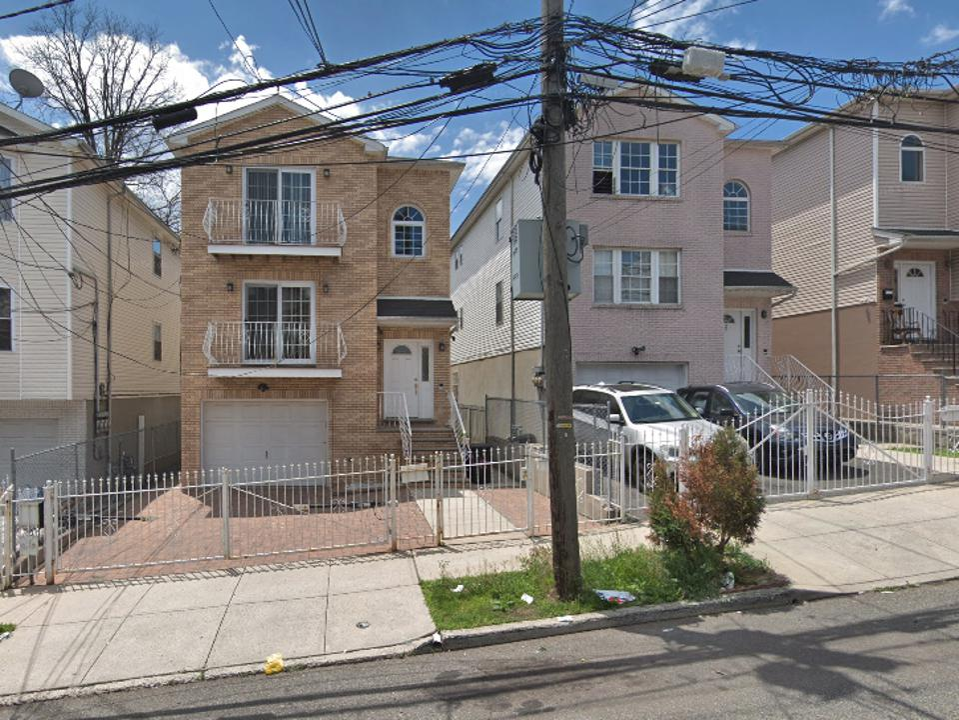 Corey Booker's home in Newark, New Jersey.