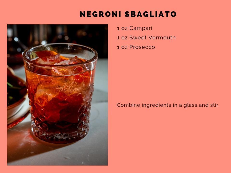 The Negroni Sbagliato.