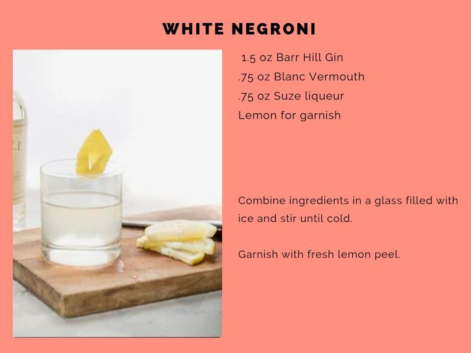 The White Negroni.