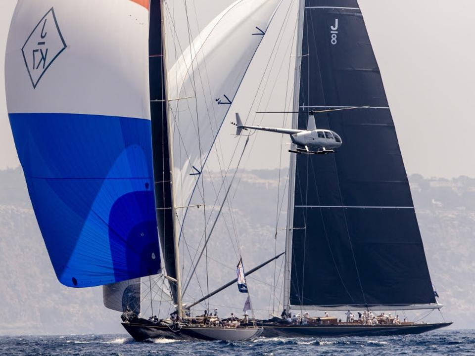 The classic J/Class yachts battle for bragging rights and the Superyacht Cup in Palma.