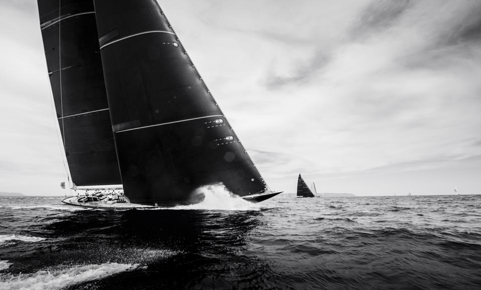 The timeless J's captivate their owners and crews at The Superyacht Cup Palma 2019