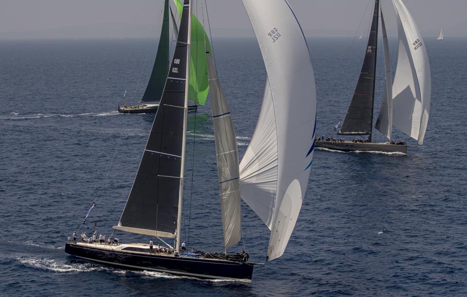 Big boats, big budgets, and big fun at the Superyacht Cup Palma 2019.