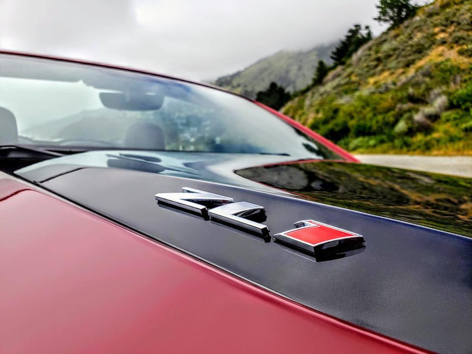 Camaro ZL1 hood
