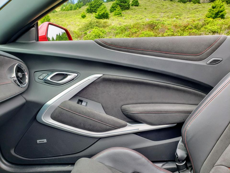 Camaro ZL1 interior
