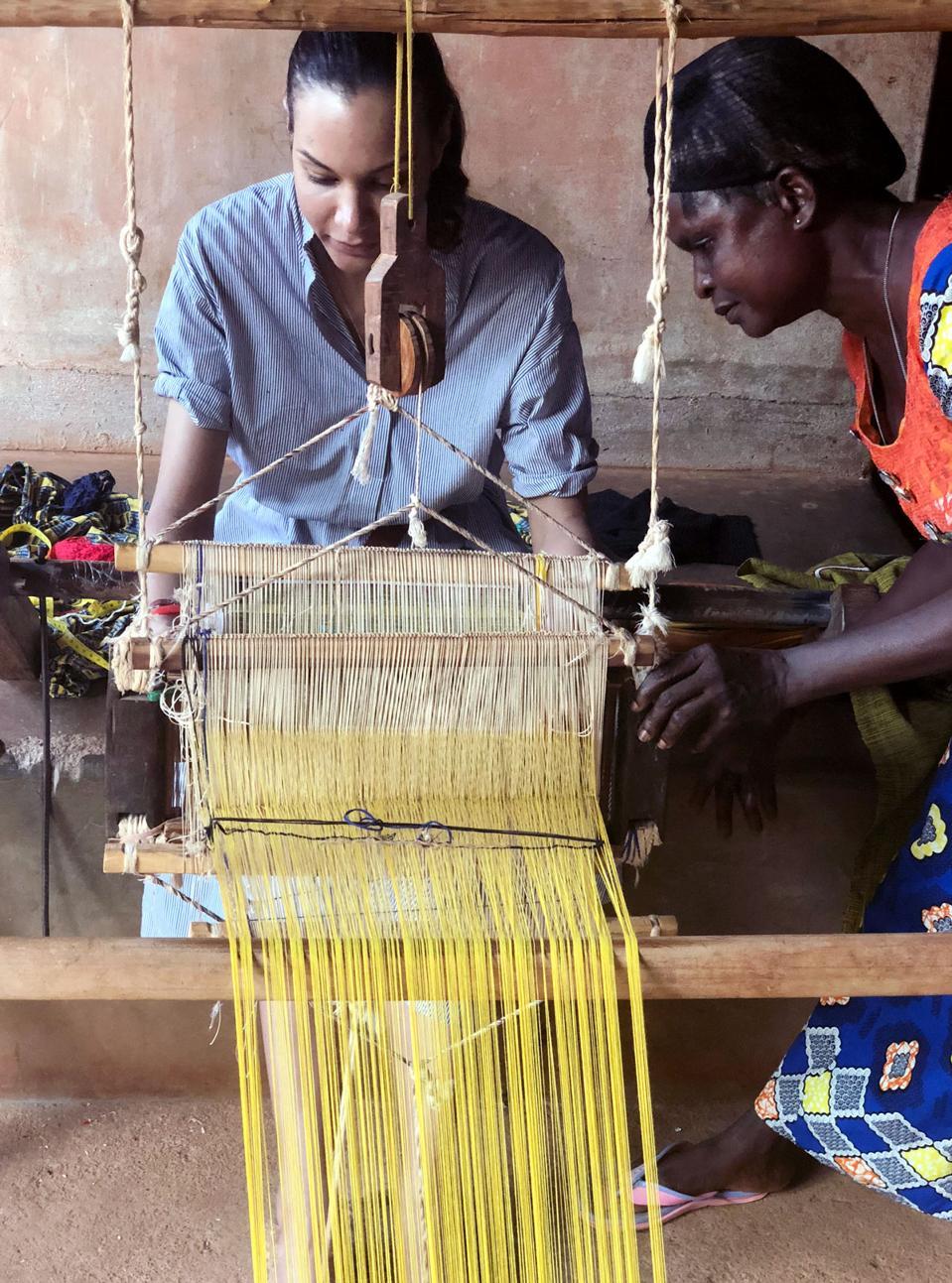 Stella Jean in Benin.