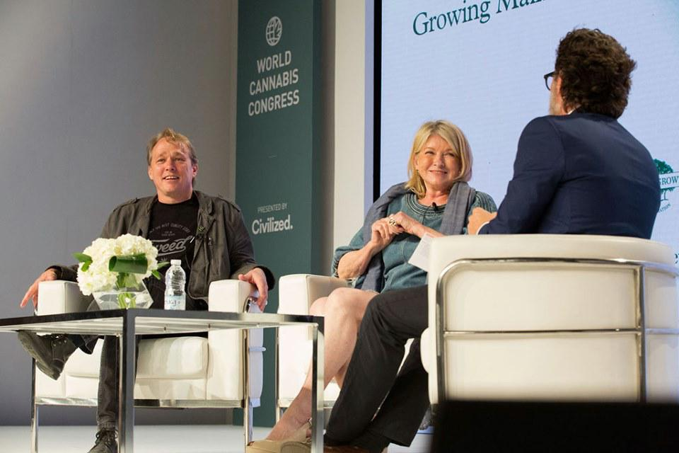 World Cannabis Congress, Bruce Linton, Martha Stewart, Canopy Growth