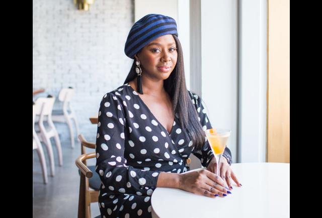 Getting Floral With St-Germain's New Brand Ambassador Earlecia Gibb