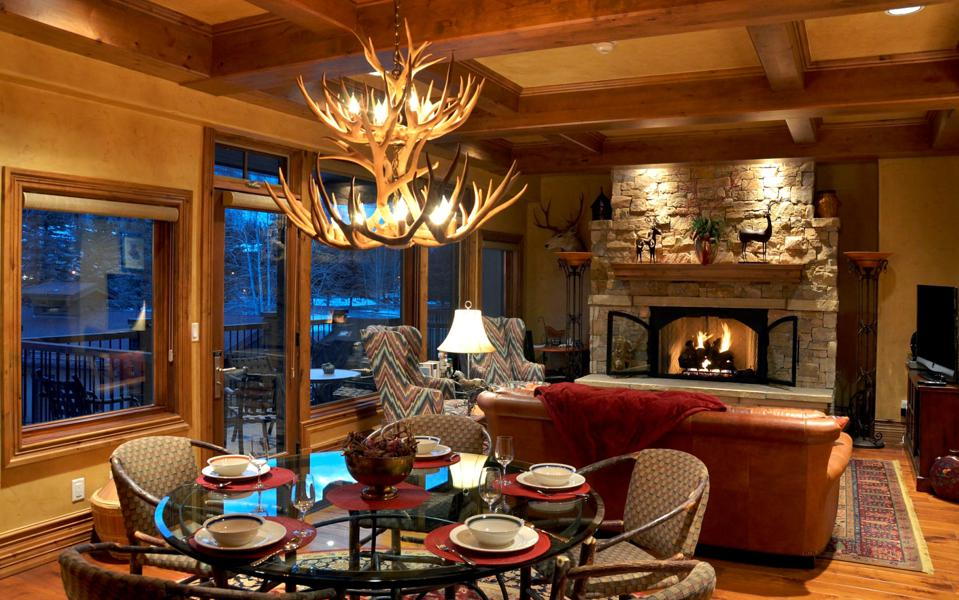 Opulence abounds at the exquisite Penthouse at Manor Vail Lodge.