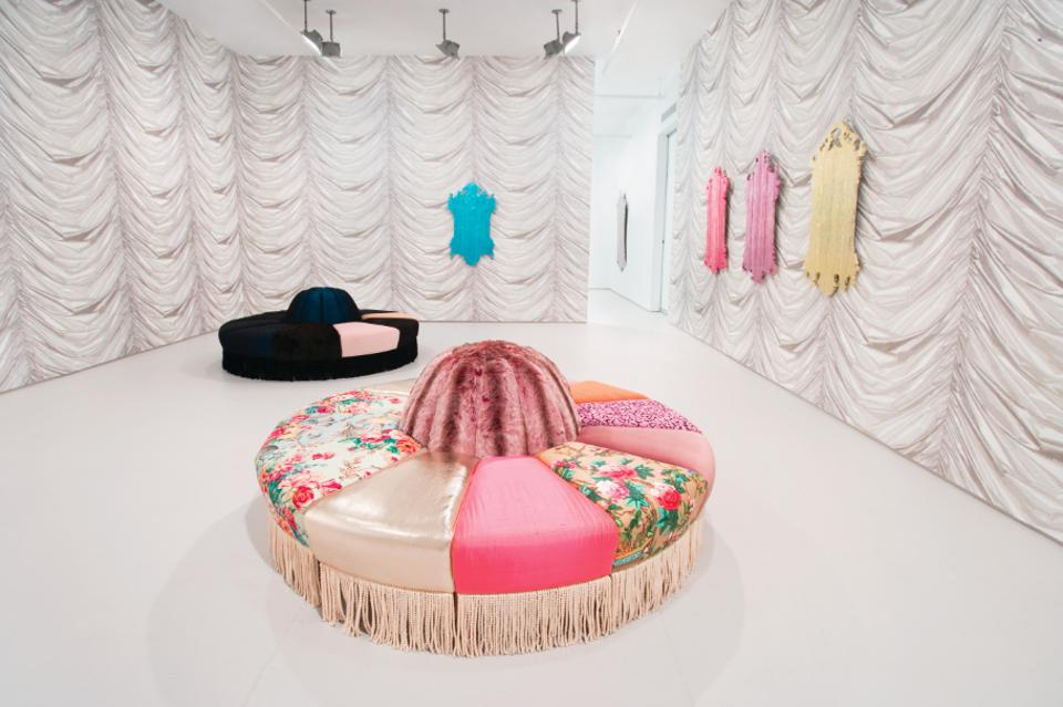 Installation view, by Virgil Marti. Elizabeth Dee Gallery, New York, 2010. Photo by Tom Powel. Courtesy the artist. © Virgil Marti