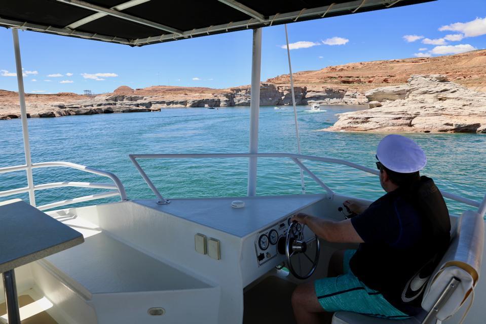 Houseboating Lake Powell